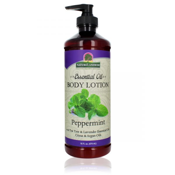 Essential Oil Peppermint Body Lotion