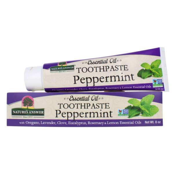 Peppermint Toothpaste
