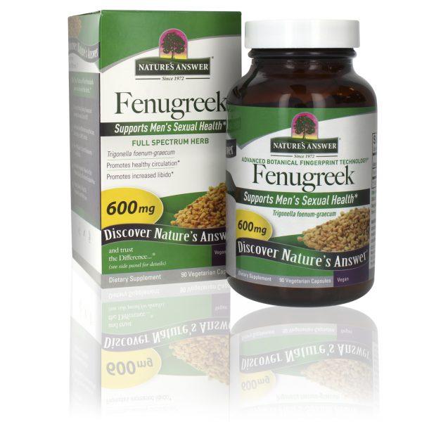 Fenugreek capsules