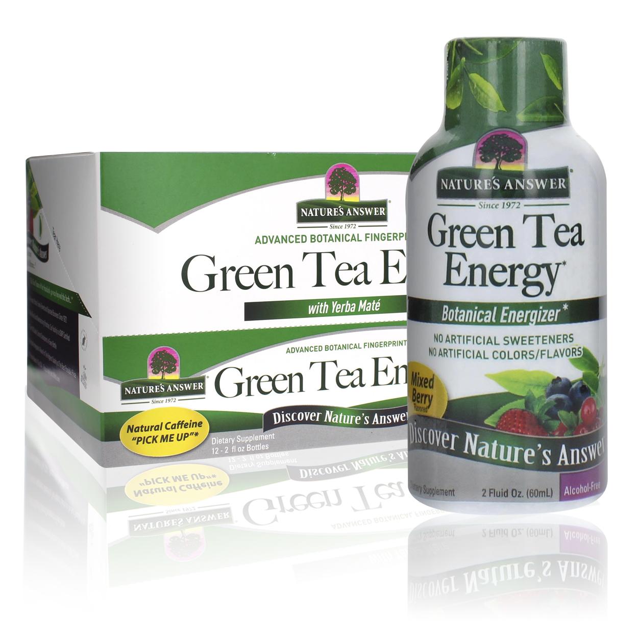 Green Tea Energy Shot