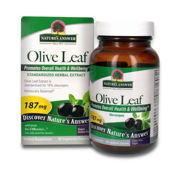 Olive Leaf Standardized