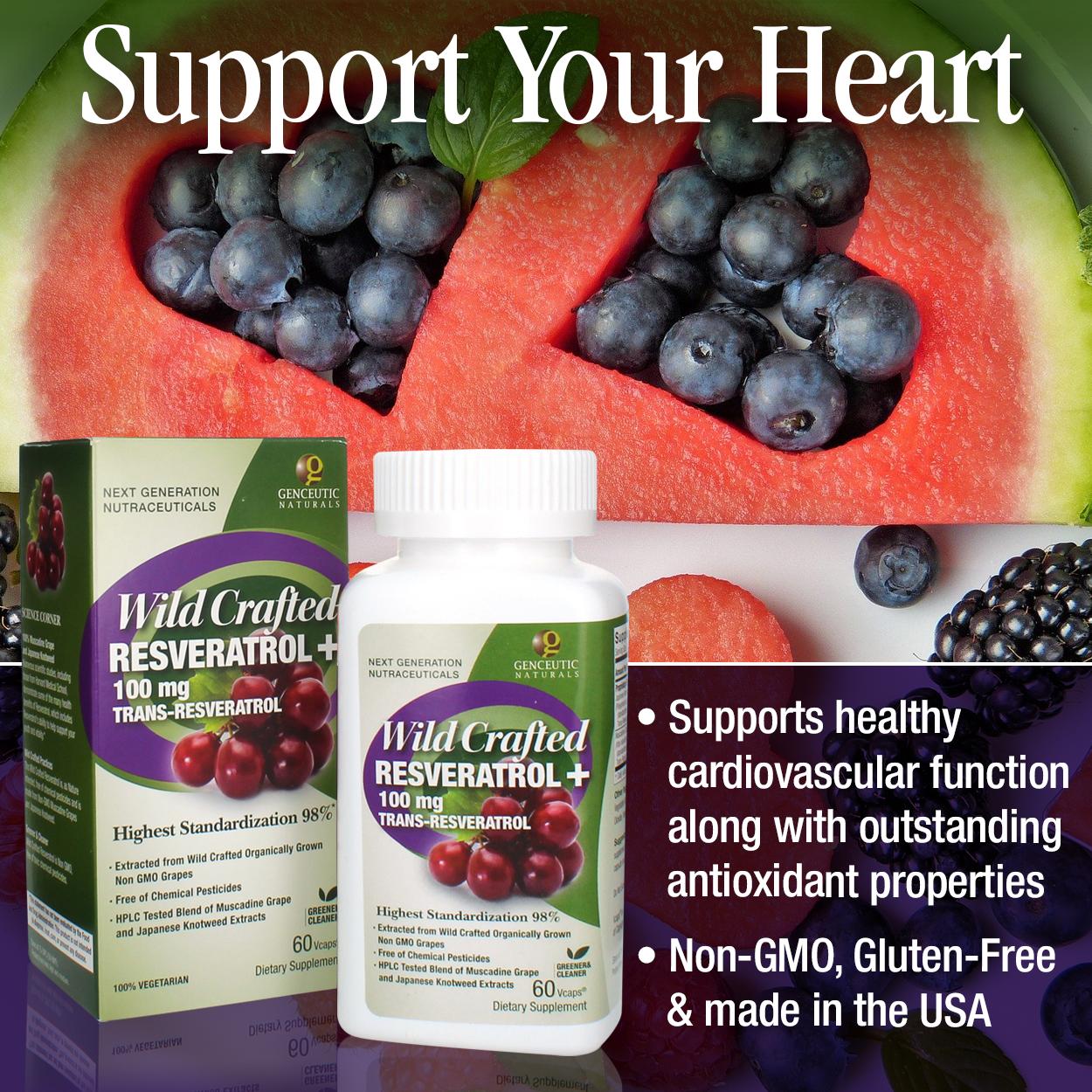 Wild & Pure Resveratrol