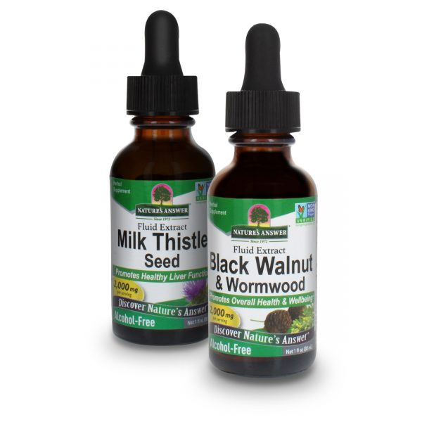 Detox support supplements bundle