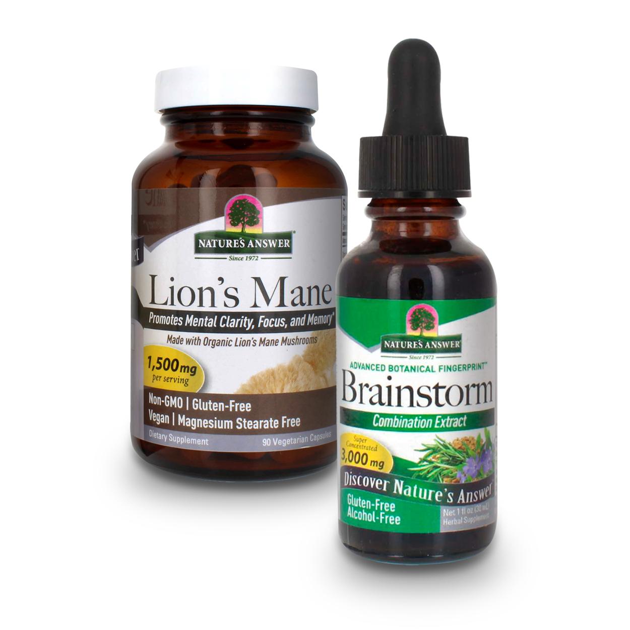 Cognitive Support Supplements Bundle