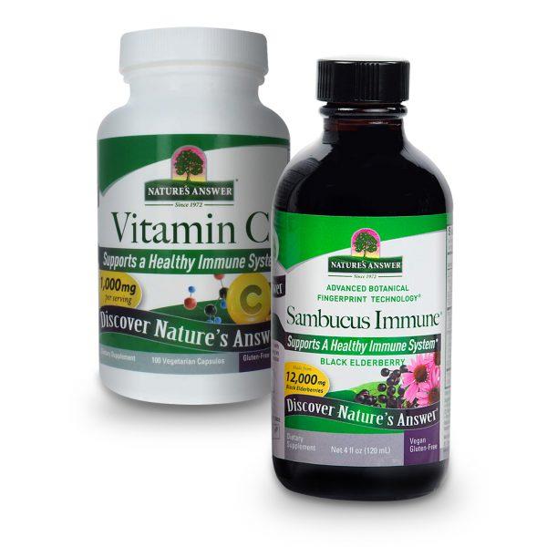 Sambucus and Vitamin C Bundle