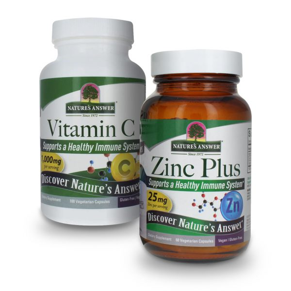 Vitamin C with Zinc bundle